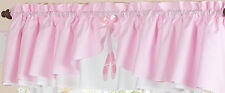 PINK BALLET BALLERINA BEDDING SETS WINDOW VALANCE CURTAIN BY SWEET JOJO DESIGNS
