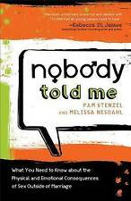 Stenzel  Pam  And Melissa-Nobody Told Me  BOOK NEW