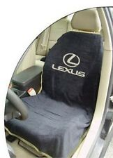BRAND NEW Universal Black Seat Armour Lexus Logo Front Seat Cover Towel