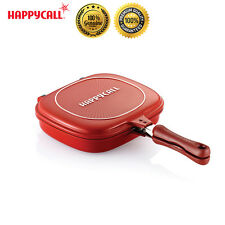 Happycall Nonstick Double Sided Pressure Titanium Multi-Purpose Frying Pan New