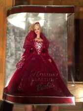 2002 Holiday Celebration Barbie Special Edition New In Box