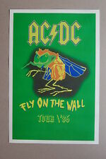 AC/DC Fly on the wall tour poster #2 Green