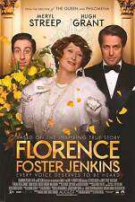 Florence Foster Jenkins - original DS movie poster - D/S 27x40