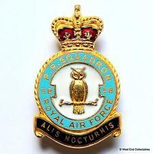 1950s RAF 58 PR Squadron (Photo Recon) MILLER Brooch Badge - Royal Air Force 2