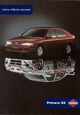 Nissan Primera SX Limited Edition 1998-99 UK Market Sales Brochure 1.6 2.0 2.0TD