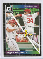 BRYCE HARPER 2014 Donruss POWER PLUS #5 Insert CARD MLB Nationals STAR $$