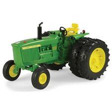 John Deere 1/16 Scale 4020 Big Farm Plastic Tractor Dual Rear Wheels TBEK46292