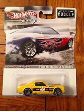 2012 Hot Wheels Racing 1965 FORD MUSTANG 2+2 FASTBACK Real Riders Muscle Metal
