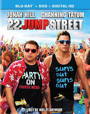 22 Jump Street (Blu-ray/DVD, 2014, 2-Disc Set) NEW