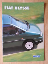 FIAT ULYSEE orig 1996 1997 UK Mkt sales brochure