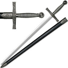 """NEW 39"""" Heavy Medieval Great Sword Wire Wrapped Handle Long Sword"""
