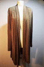 Chaqueta para Mujer Noche-Bolero-bronce brillante Stretch-Navidad Fiesta-Reino Unido 16 18