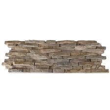 Split Face Mini Mosaic Tile Ledge Stone Beige  ( SAMPLE )