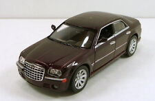 "NewRay Chrysler 300C Hemi 1:32 scale 6"" diecast model sedan car Brown #137"
