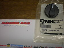 Ford New Holland Tractor GENUINE Knob Fan Heater Air Condition CNH TMTS 81867238