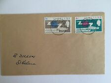 St Helena - FDC - ITU Centenary - 17 May 1965 - SG 197 - 198