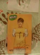 EXO Baekhyun Sunny 10 Present Ver Official Photocard Card Kpop K-pop + freebies