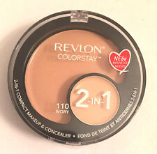REVLON COLOR STAY 2 IN 1 COMPACT MAKEUP & CONCEALER - 110 IVORY
