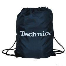 Technics / DMC Wax Sac - Gym Style Bag - Vinyl Bag - Navy Blue (TWN1) NEU!