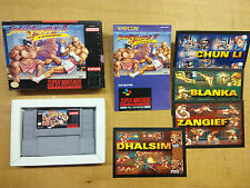 Super nintendo street fighter II turbo usa NTSC u snes sns-ti-états-unis Capcom 1993