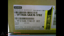 SIEMENS 1FT7034-5AK70-1FB2 ELECTRIC NATURAL AIR COOL SYNCH MOTOR, NEW