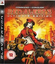 ps3 COMMAND & AND CONQUER Red Alert 3 Ultimate Edition Playstation PAL UK