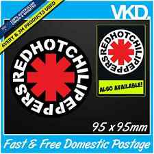 Red Hot Chilli Peppers Sticker/ Decal - Rock Band Music Vinyl Car 4x4 JDM RHCP
