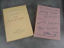 Mirbeau Le calvaire Sauret Imprimerie Nationale Minaux numéroté 1823 beau papier