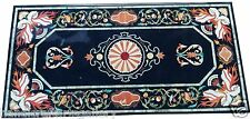 Size 4'x2' Marble Dining Center Table Top Rare Stone Mosaic Inlay Art Home Decor