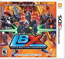 LBX: Little Battlers eXperience (Nintendo 3DS Exclusive Game 30,000 Designs) NEW