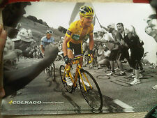 POSTER THOMAS VOCKLER TOUR DE FRANCE 2011 COLNAGO EUROPCAR CICLISMO BIKE CYCLING