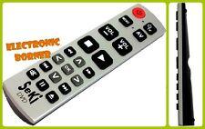 SeKi DVD mando a distancia universal (plata-negro) NUEVO