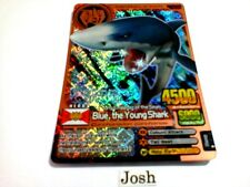 Animal Kaiser Evolution Evo Version Ver 1 Bronze (A044: Blue, the Young Shark)