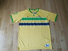 AYRTON SENNA FOUNDATION Helmet Collection Racing Jersey #12 Mens Size XXL Soccer