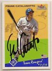 Frank Catalanotto signed autographed Baseball card Fleer Tradition