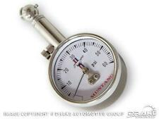 Mustang Tyre Pressure Gauge with Classic Logo & Case 64 65 66 67 68 69 70 71 72