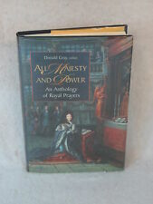 Donald Gray  ALL MAJESTY AND POWER  William B. Eerdmans 2000  HC/DJ