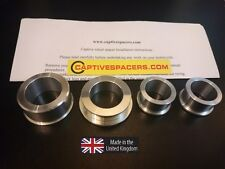Yamaha R6  2003 - 2004 - 2005  captive race wheel Spacers. UK made.