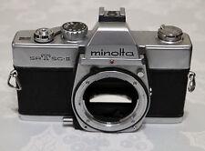 MINOLTA SRTSC-II SLR BODY VG CONDITION