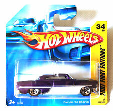 HOT WHEELS CUSTOM '53 CHEVY. 2007. FIRST EDITIONS. ISSUE REF: K6166. 034/156