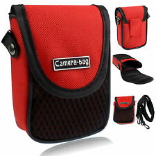 Red Universal Soft Compact Digital Camera Case Bag Pouch