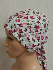 Chemo head wrap cap cancer hair loss bonnet floral alopecia head scarf head wear