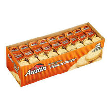 Austin Toasty Snack Crackers w/ Peanut Butter 45 ct 1.38 oz Packs