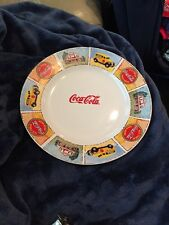 "Gibson Coca Cola 11"" Porcelain Fine China Serving Plate"