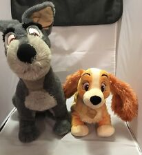 Disney's Lady And The Tramp Plush Set Stuffed Animal