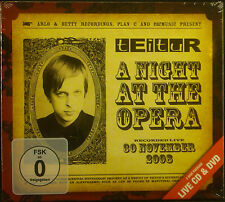 CD + DVD TEITUR - a night at the opera, neu - ovp