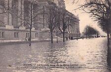 PARIS inondations de janvier 1910 76 inondation du grand palais avenue d'antin