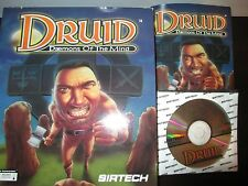 Druid: Daemons of the Mind  (PC, 1995) Complete in Box CIB