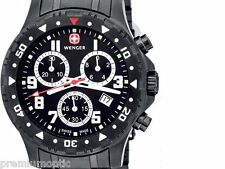 WENGER OFF ROAD CHRONO Swiss Watch Black Dial Bracelet