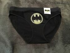 Batman Character Panty Brief Underwear NWT Sz Xl Free S&H Black W/logo Seamless